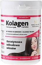 Kup Kolagen + keratyna i cynk w proszku Keratynowa odbudowa włosów - Noble Health