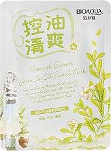 Kup Odświeżająca maska z ekstraktem z zielonej herbaty - BioAqua Natural Extract Green Tea Oil Control Mask