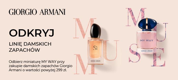 Odbierz miniaturę Because It's You przy zakupie damskich zapachów Giorgio Armani o wartości powyżej 299 zl.