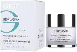 Kup Nawilżający krem do twarzy do suchej skóry z filtrem SPF20 - Gigi Bioplasma Moist Dry SPF-20