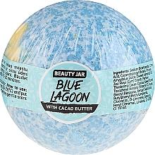 Kup Musująca kula do kąpieli z masłem kakaowym - Beauty Jar Blue Lagoon