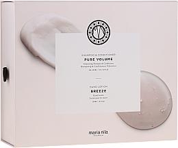Kup Zestaw - Maria Nila Pure Volume Presentbox (sh 350 ml + cond 300 ml + h/soap 300 ml)
