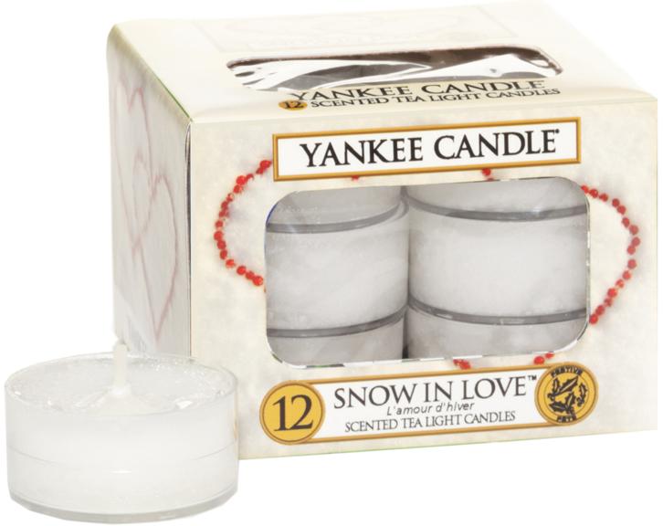 Podgrzewacze zapachowe tealight - Yankee Candle Scented Tea Light Candles Snow in Love — фото N1