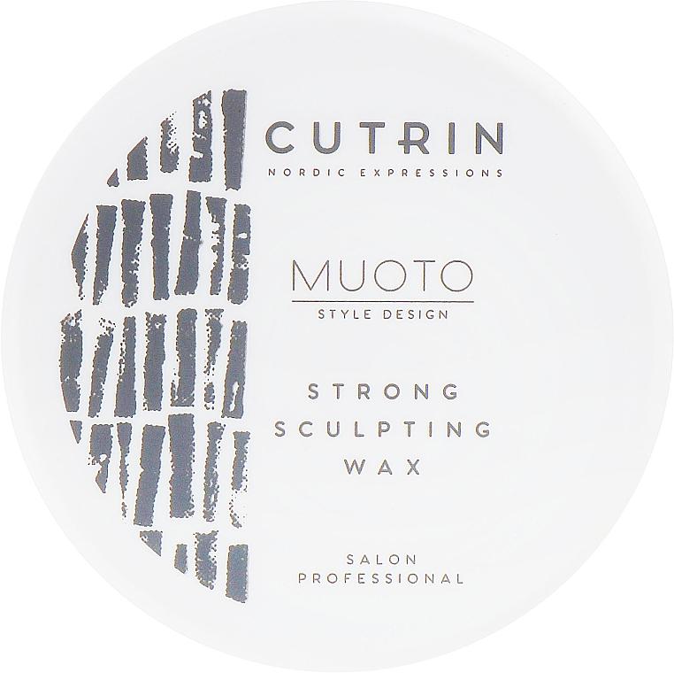 Wosk do stylizacji włosów - Cutrin Muoto Strong Sculpting Wax — фото N1