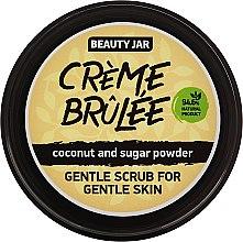 Kup Delikatny scrub do twarzy do skóry delikatnej Crème brûlée - Beauty Jar Coconut And Sugar Powder Gentle Scrub