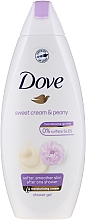 Kup Kremowy żel pod prysznic Słodka śmietanka i piwonia - Dove Purely Pampering Creamy Vanilla And Peony