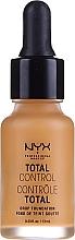 Kup Długotrwały podkład z bazą - NYX Professional Makeup Total Control Drop Foundation
