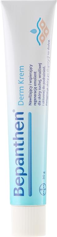 Nawilżający krem wspierający regenerację skóry suchej i podrażnionej - Bepanthen Derm Soothing Cream — фото N2