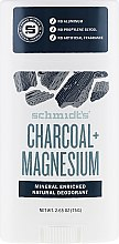 Kup Naturalny dezodorant w sztyfcie z węglem aktywnym i magnezem - Schmidt's Natural Deodorant Charcoal + Magnesium Stick