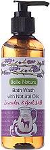 Kup Żel pod prysznic z naturalnymi olejami o zapachu lawendy z kozim mlekiem - Belle Nature Bath Wash Lavender&Goat Milk