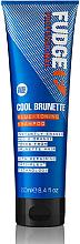 Kup Szampon tonizujący do włosów - Fudge Cool Brunette Blue-toning Shampoo Reviews