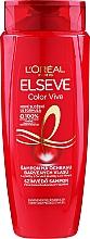 Kup Ochronny szampon do włosów farbowanych - L'Oreal Paris Elseve Shampoo Color Vive