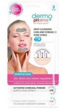 Kup Oczyszczające plastry 4D na czoło i brodę Detoks skóry i regulacja sebum - Dermo Pharma