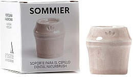 Kup Uchwyt na szczoteczkę do zębów, różowy - NaturBrush Sommier Toothbrush Holder