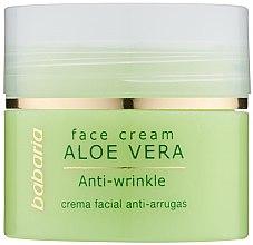 Kup Przeciwzmarszczkowy krem do twarzy z aloesem - Babaria Aloe Facial Wrinkle Cream