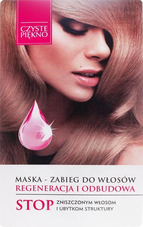 Maska-zabieg do włosów Regeneracja i odbudowa - Czyste Piękno