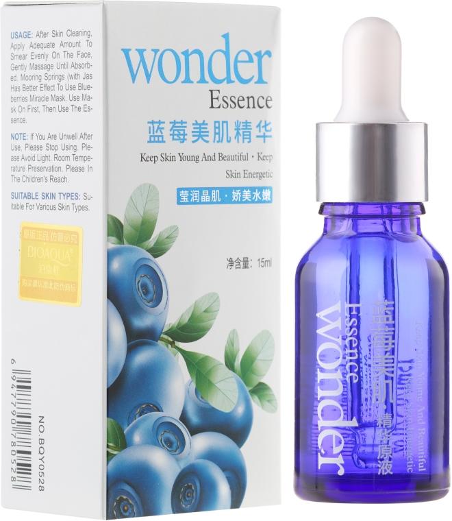 Jagodowe serum do twarzy - Bioaqua Wonder Essence