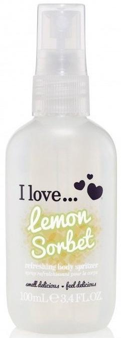 Odświeżający spray do ciała - I Love... Lemon Sorbet Refreshing Body Spritzer — фото N1