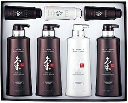 Kup Zestaw - Daeng Gi Meo Ri Ki Gold Hair Care Set (shm/500ml + shm/500ml + shm/500ml + cond/500ml + shm/70ml + shm/70ml + cond/70ml)