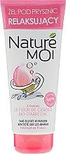 Kup Relaksujący żel pod prysznic z ekstraktem z kwiatów wiśni z Ardèche - Nature Moi Shower Gel