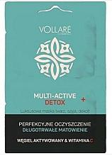 Kup Oczyszczająco-matująca maska na twarz, szyję i dekolt - Vollare Multi-Activ Detox Mask