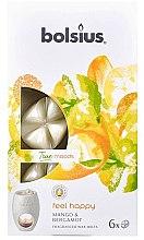 Kup Płatki zapachowe do kominka Mango i bergamotka - Bolsius True Moods Feel Happy Mango & Bergamot