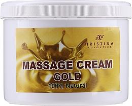 Kup Krem do masażu twarzy i ciała - Hristina Cosmetics Gold Massage Cream