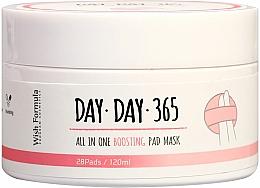 Kup Peelingujące płatki oczyszczające do twarzy z kwasami - Wish Formula Day Day 365 All in One Boosting Pad Mask