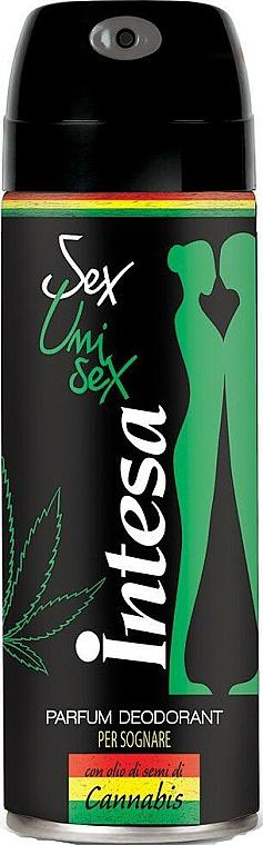 Perfumowany dezodorant w sprayu - Intesa Unisex Parfum Deodorant Cannabis — фото N1