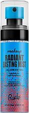 Kup Rozświetlający spray utrwalający - Rude Cosmetics Radiant Lasting Mist