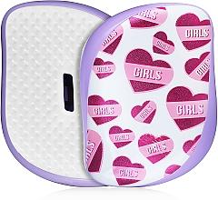 Kup PRZECENA! Kompaktowa szczotka do włosów - Tangle Teezer Compact Styler Girl Power *
