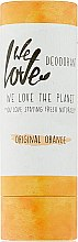 Kup Dezodorant w sztyfcie Pomarańcza - We Love The Planet Original Orange Deodorant Stick