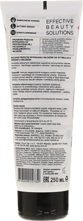 Balsam przeciw wypadaniu włosów stymulujący ich wzrost - Markell Cosmetics Anti Hair Loss — фото N2