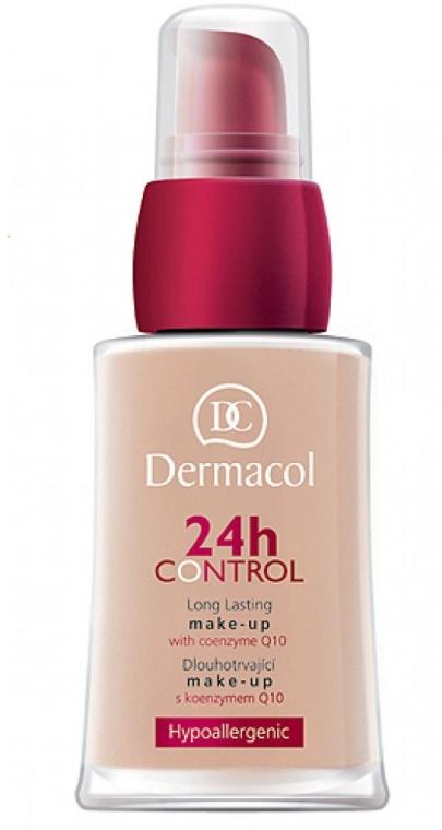 Długotrwały i lekki podkład z koenzymem Q10 - Dermacol 24h Control Long Lasting Make-Up