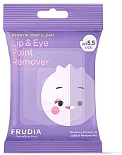 Kup Chusteczki micelarne do demakijażu oczu i ust - Blueberry Micellar 5.5 Lip & Eye Remover Pad
