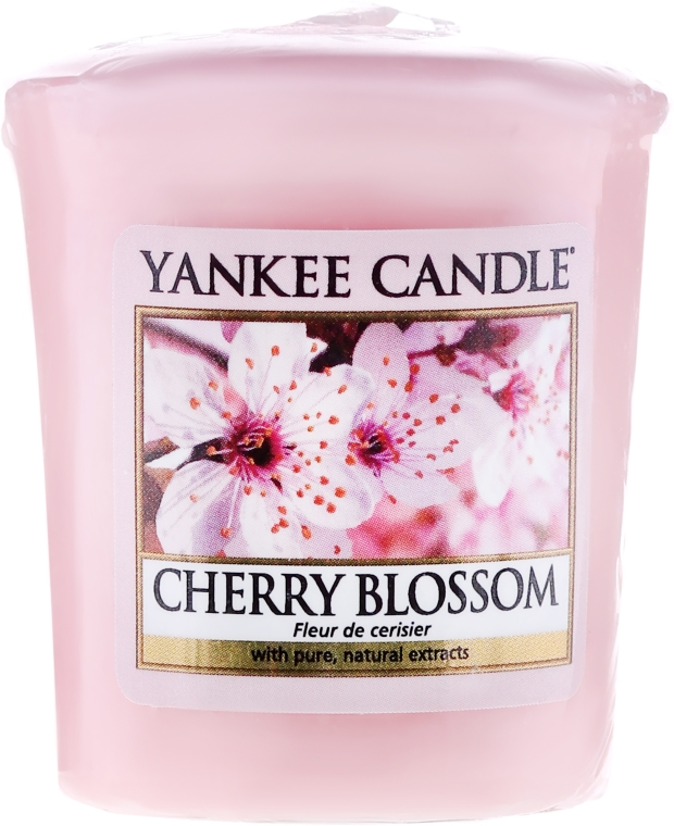 Świeca zapachowa sampler - Yankee Candle Scented Votive Cherry Blossom