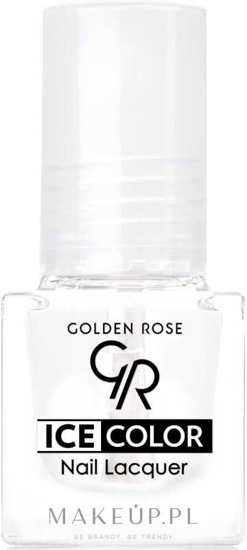 Lakier do paznokci - Golden Rose Ice Color Nail Lacquer — фото 00 - Clear