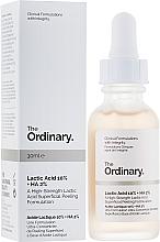 Kup Peeling z kwasem mlekowym 10% + HA 2% - The Ordinary Lactic Acid 10% + HA 2%