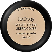 Kup Kryjący puder do twarzy SPF 20 - IsaDora Velvet Touch Ultra Cover Compact Powder