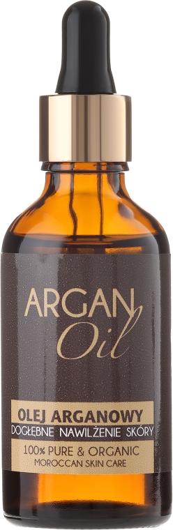 100% olej arganowy do twarzy, ciała, włosów i paznokci - Efas Argan Oil