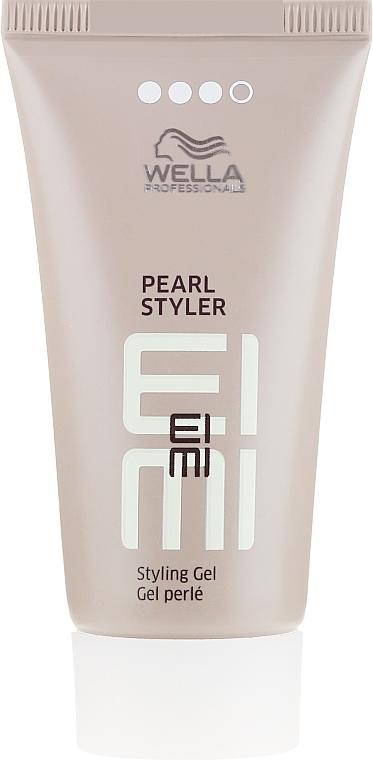 Mocno utrwalający żel o perłowym połysku - Wella Professionals EIMI Pearl Styler