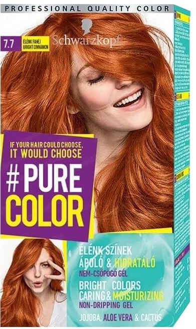Trwała farba do włosów - Schwarzkopf Pure Color