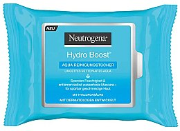 Kup Oczyszczające chusteczki nawilżane, 25 szt. - Neutrogena Hydro Boost