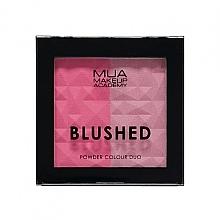 Kup Podwójny róż do policzków - MUA Blushed Powder Colour Duo