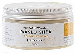 Kup Pomarańczowe masło shea z witaminą E - Natur Planet Orange Shea Butter Unrefined & Vitamin E