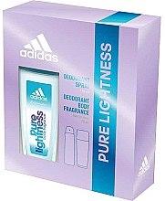 Kup Adidas Pure Lightness - Zestaw (deo 75 ml + spray 150 ml)