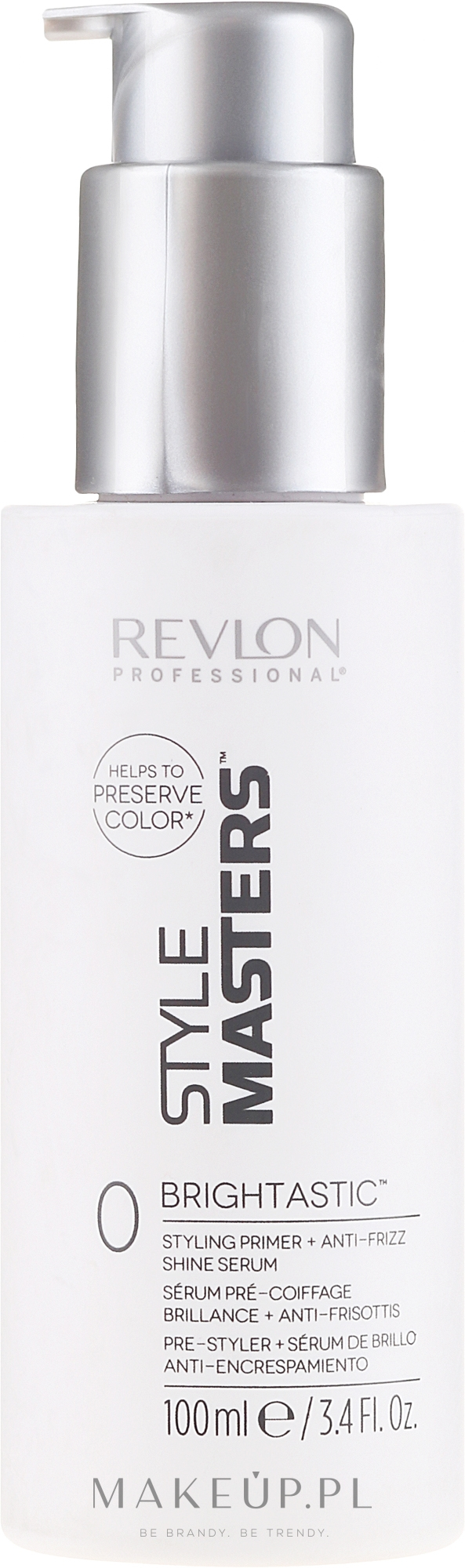 Primer + serum do włosów - Revlon Professional Style Masters Double or Nothing Brightastic — фото 100 ml