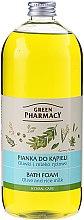Kup Pianka do kąpieli Oliwki i mleko ryżowe - Green Pharmacy