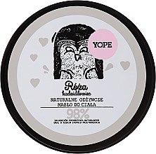 Kup Naturalne odżywcze masło do ciała - Yope Róża i kadzidłowiec