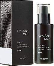 Kup Intensywnie przeciwstarzeniowy żelowy balsam do twarzy dla mężczyzn - Oriflame NovAge Men
